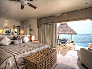 fully staffed luxury oceanfront villa Puerto Vallarta